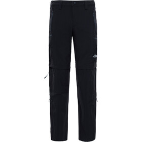 The North Face Exploration Pantalon convertible avec fermeture éclair Long Homme, tnf black